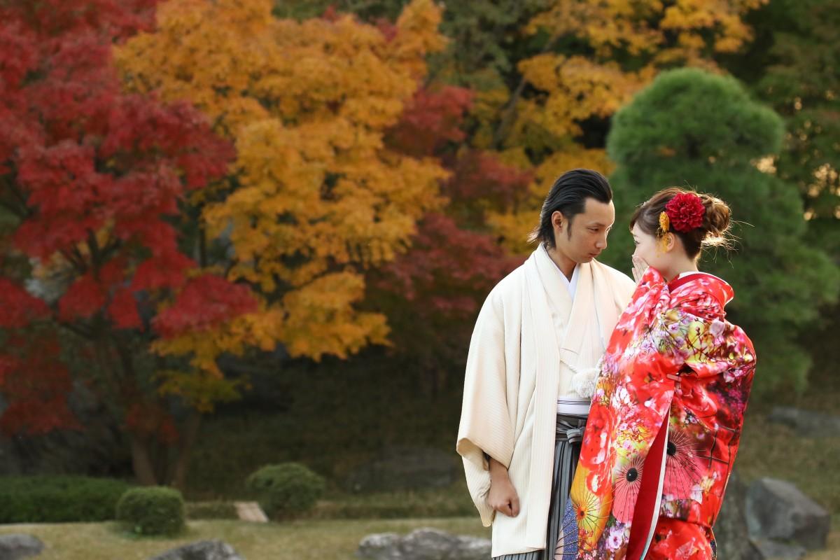 【和装も気になるカップルにオススメ】和装で叶える和Wedding♪♪